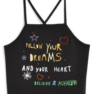 Topshop || Follow Your Dreams Crop Top